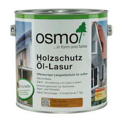 osmo landhausfarbe holzschutz l lasur uv schutz l. Black Bedroom Furniture Sets. Home Design Ideas