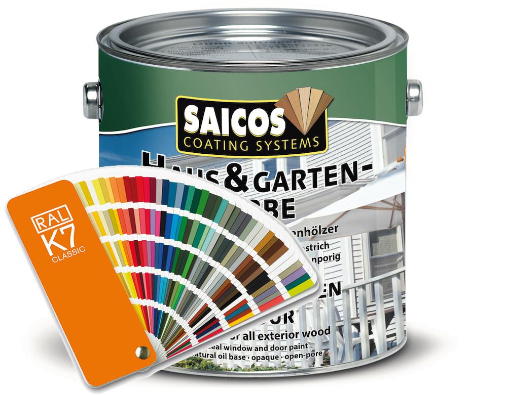 Saicos Holzfarbe Haus Garten Farbe Nach Ral Adelsberger Holz