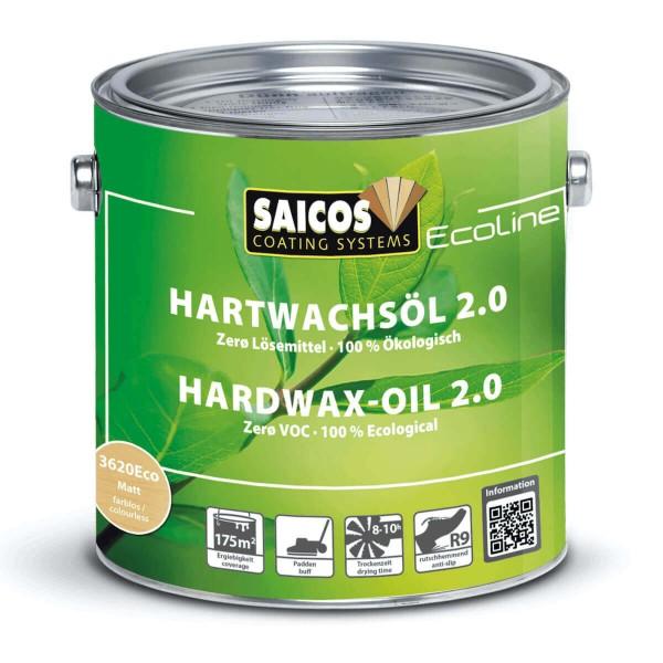 SAICOS Ecoline Hartwachsöl 2.0 Lösemittelfrei 3620