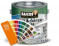SAICOS 2,5 Liter Haus & Garten-Farbe nach RAL 5015 Himmelblau