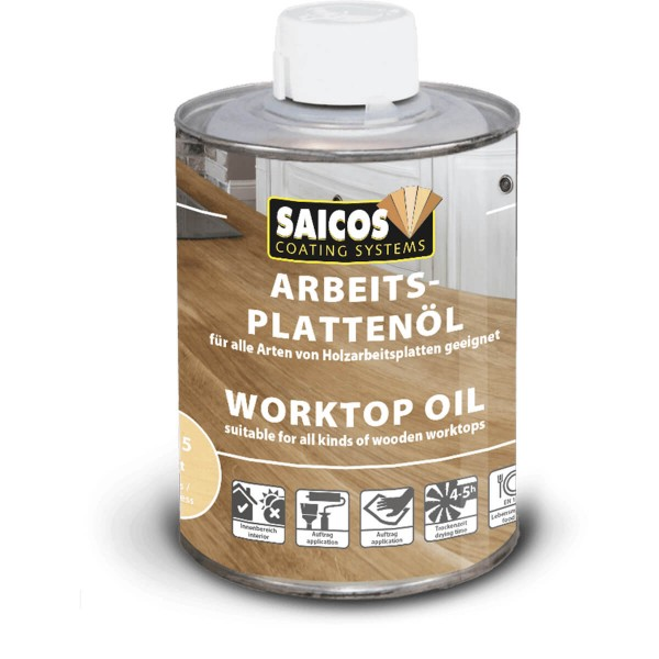 3355 Farblos Matt SAICOS Arbeitsplattenöl