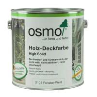 OSMO Holz-Deckfarbe 2104 Weiß
