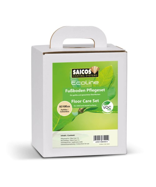 SAICOS Ecoline Fußboden Pflegeset 8310