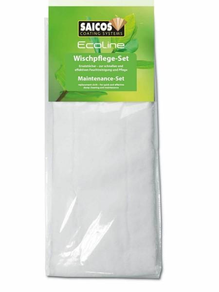 2 Ersatztücher für Wischpflege-Set Ecoline