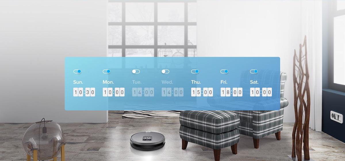 Flexible Planung V80 hat eine 7-Tage-Arbeitswoche und akzeptiert erweiterte Zeitplanung zu unterschiedlichen Zeiten jeden Tag.