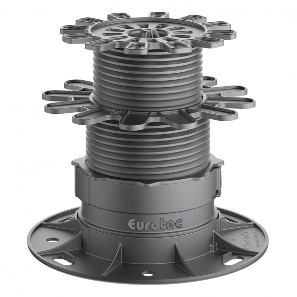 Eurotec Verstellfuß PRO XL 7,4 - 16,8 cm
