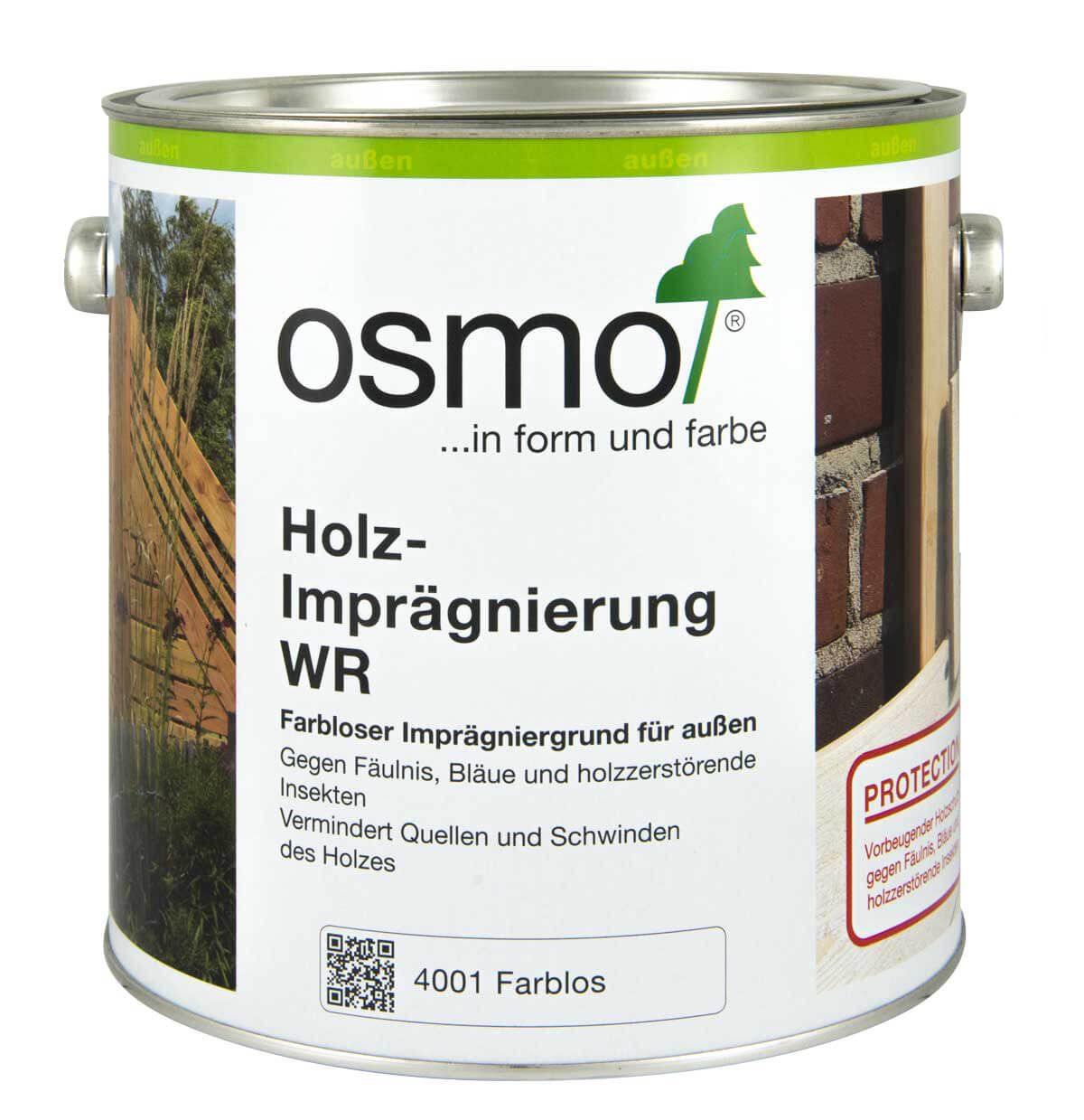 osmo holzimpr gnierung wr 4001 farblos adelsberger holz. Black Bedroom Furniture Sets. Home Design Ideas